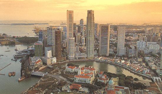 Singapur panorámica